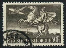 Belgium C12 XF Used 50fr Airmail From 1949 - Airmail