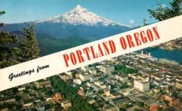 Greetings From PORTLAND OREGON - Portland