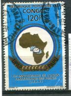 Congo 1991 - Poste Aérienne YT 406 (o) Sur Fragment - Congo - Brazzaville