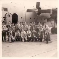 Foto Photo ( 9 X 9 Cm ) Vliegtuig Avion Parachute Parachutespringen - Parachutisme
