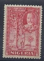 130101043   NIGERIA  G.B.  YVERT  Nº  38  *  MH - Nigeria (...-1960)