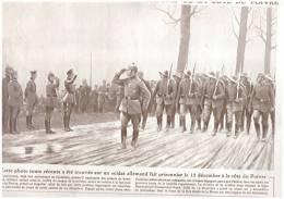 GUERRE 14-18 Le Kronprinz   PASSE LES TROUPES EN REVUE  COTE DU POIVRE  Haudromont  Vaux Douamont - Non Classés