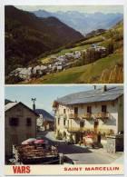VARS--SAINT MARCELLIN--Vue Générale Et Massif Du Pelvoux--Le Paneyron-cpm N° 367 éd Cellard--cachet Col De Vars - Autres Communes