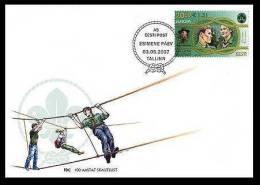 EUROPA Scouts 2007 Estonia Stamp FDC Mi 585 - Estonia
