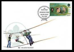 EUROPA Scouts 2007 Estonia Stamp FDC Mi 585 - Estonie