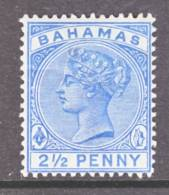 Bahamas  28a  Dull  Blue  *  Wmk 2 - 1859-1963 Crown Colony