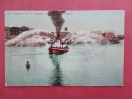 OR - Oregon > Portland  Fire Boat Geo H. Williams  1908 Cancel   Ref  850 - Portland