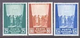 Vatican  84-6  * - Unused Stamps