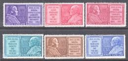 Vatican  176-81   * - Unused Stamps