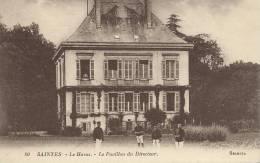 17)  SAINTES  -  Les  Haras  -  Le  Pavillon  Du  Diresteur - Saintes