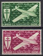 Guadeloupe Poste Aérienne N°  4, 5 ** - Guadalupe (1884-1947)