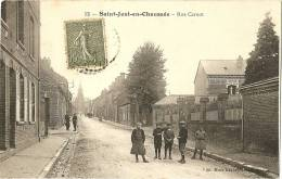 60 - OISE - SAINT JUST EN CHAUSSEE - Rue Carnot - Saint Just En Chaussee