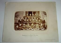 Photo Pensionnat Des Freres Maristes De VALBENOITE, St Etienne 1879 - 80 / J David - Antiche (ante 1900)