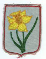 Ecusson   Fleur Brodée - Ecussons Tissu
