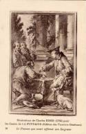 Le Paysan Qui Avait Offensé Son Seigneur (Pièces De Monnaie - Conte De La Fontaine .... ...(52889) - Monnaies (représentations)