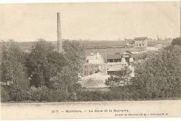 60 - OISE - MONTIERS - La Gare Et La Sucrerie - Frankreich