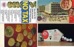 4 CP Reproductions De Pièces De Monnaie . ...(52893) - Monnaies (représentations)