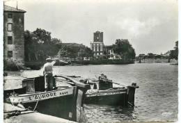 34* AGDE CPSM(10x15cm) Une Jolie Echappee Sur Le Port - Agde