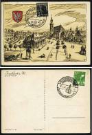 A1679) Kontrollrat Karte Frankfurt 18.5.1948 Sonderstempel Europäische Union - Gemeinschaftsausgaben