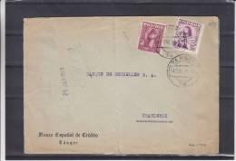 Espagne - Tanger - Lettre De 1949 ° - Affranchissement Mixte - 1931-Aujourd'hui: II. République - ....Juan Carlos I