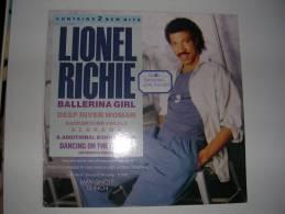 "MAXI - LIONEL RICHIE  -  MOTOWN 41082  "" BALLERINA GIRL "" + 2 - 45 Rpm - Maxi-Single"