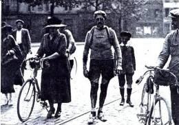 Cyclisme - Wielrennen - Tour De France 1921 Leon Scieur à Metz - Cyclisme