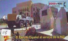 Télécarte WAR TANK (118)  MILITAIRY LEGER ARMEE PANZER Char De Guerre * KRIEG * Phonecard Army * - Armee