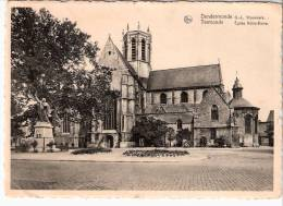 Dendermonde-Termonde-O.-L. Vrouwkerk (Eglise N.D-Statue Du R.P De Smet)(exp.-->Wiers-Callenelle)-Timbre COB 714-90c-1945 - Dendermonde