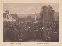 """MONS - Inauguration Du Monument à """"La Bascule"""" - Dimensions 175 X 135 Mm. - Sin Clasificación"""
