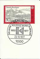 FRAGMENTO CON MAT BERLIN KOLPING WERK 125 AÑOS RELIGION ONG CARIDAD - Christentum
