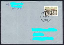 D10 Slowenien Slovenia Letter Hand-stamped Postmark Stempel 70 Jahre Akademie Der Wissenschaften & Künste Sciences & Art - Slowenien