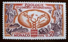 MONACO Tortue, Poisson, Oiseaux THEME SECONDAIRE. Yvert N° 895. Neuf Sans Charniere ** . MNH - Reptiles & Batraciens