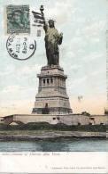 Architecture - Miss Liberty - Statue Liberté New-York - Oblitération - Monuments
