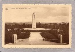 36578    Belgio,     Canadian  War  Memorial  -  St.  Julien,  NV - Ieper