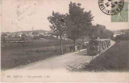 ROYAN 181 VUE GENERALE  (TRAMWAY ) 1924 - Royan
