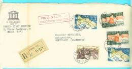 Old Letter - France - Airmail