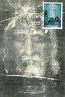 ITALIA, Maxicard Maximum,  1998,  The Sacred Sindone Of Jesus Christ - Maximumkaarten