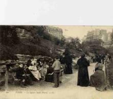 CPA PARIS LE SQUARE SAINT PIERRE - Arrondissement: 18