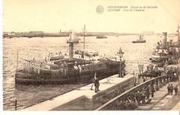 Antwerpen-Anvers-+/-1920-zich Op De Schelde-Sleepboot- Vue De L'Escaut- Bâteaux- Remorqueur- Voilier.... - Remorqueurs
