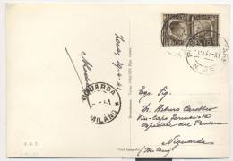 3557-POSTUMIA GROTTE(SLOVENIA)-10 C. FRATELLAZA ITALO-TEDESCA-POSTA MILITARE N.46-1941-FG - 1900-44 Victor Emmanuel III