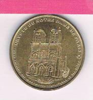 M D P : 7504 CND1/99 Crypte De Notre Dame De Paris 1999 , Médaille , Monnaie De Paris - Non-datés