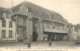80 SAINT VALERY SUR SOMME LES MAGASINS A SEL - Saint Valery Sur Somme
