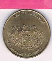 M D P : 13 BDP1/02 Chateau Des Baux De Provence  2002 , Médaille , Monnaie De Paris - Monnaie De Paris