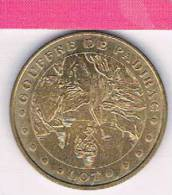 M D P : 46PAD1/01 Gouffre De Padirac , Lot  2001 , Médaille , Monnaie De Paris - Monnaie De Paris