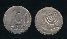 ISRAEL -  100 Sheqalim  KM143 - Israel