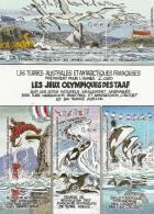 TAAF   2002 OLYMPIC GAMES - Blocs-feuillets