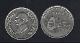 JORDANIA -  5  Piastres  1993  KM54 - Jordania