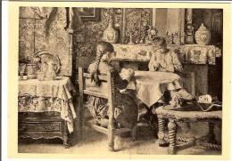 LA PARTIE DE CARTES A JOUER-REPRODUCTION TABLEAU HENRI DE BRAEKELEER- - Cartes à Jouer