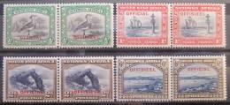 A6450 - South West  Africa - 1931 - Sc. O13-O16 -  MLH - África Del Sudoeste (1923-1990)