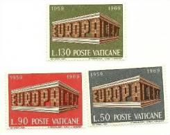 1969 - 470/72 Europa^ - Vatican